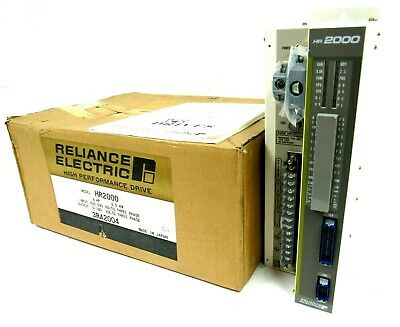 New Reliance Electric Hr2000 Servo Controller 3Ra2004 4Hp 3.0Kw 200-230V 3Ph