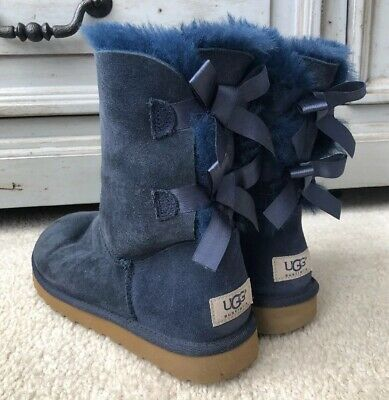 037c1a87733 NWT WOMEN UGG Bailey Bow Boots REDWOOD 1002954 Winter Boots Sizes 7 ...
