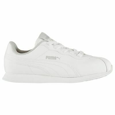 Puma Kids Turin II Trainers Juniors Low Lace Up Sports Shoes Soft Foam Insole