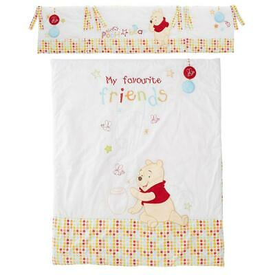 Obaby Quilt & Bumper Set (Winnie-the-Pooh) Fits Cots & Cot Beds - RRP £49.99