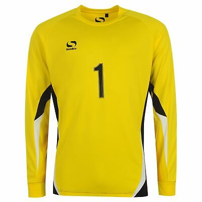 5c2f9a5188 Sondico Core Goalkeeper Shirt Youngster Boys Top Full Length Sleeve Crew  Neck