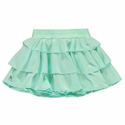 adidas Kids Girls Frill Skirt Junior Performance ClimaLite Stretch Stretchy
