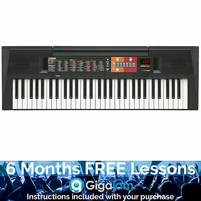 Yamaha PSR-F51 Portable Keyboard with 6 Months Free Online Music Lessons