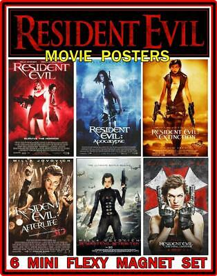 Resident Evil The Final Chapter Movie Poster Milla Jovovich V2