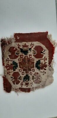 Egyptian İslamic Fatimid- Abbasid textile Tiraz fragments (possibly child dress)
