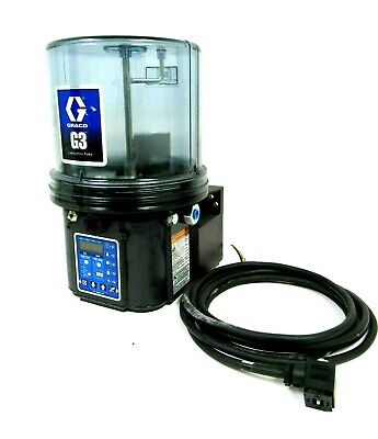New Graco 96G145 G3 Lubrication Pump G3-G-Acmx-4L0L00-1D000000 120-240Vac