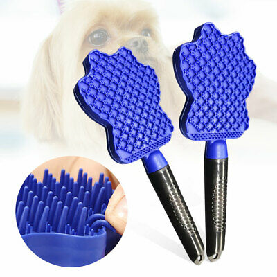 Cleaning Brush Magic Pet Dog Cat Massage Hair Removal Groomer Glider Comb