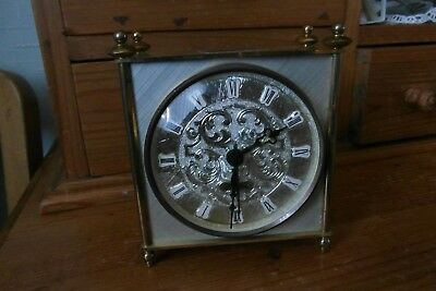 metal cased  BLESSING  quartz carriage clock