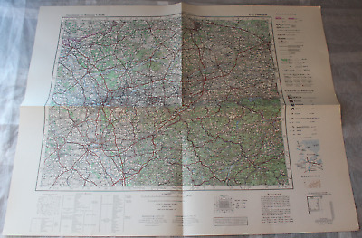 Map Outline Map of Central Europe 1:3 00000 K 52