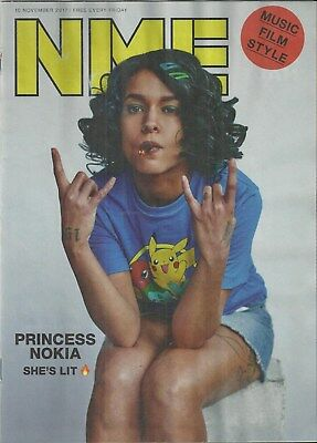 NME - November 2017 - Princess Nokia Cover/Peaky Blinders/Aubrey Plaza
