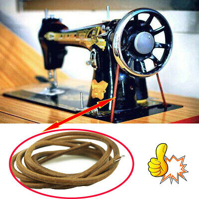 Sewing Machine Parts Treadle Leather Belt For Singer, Jones And Most Brands