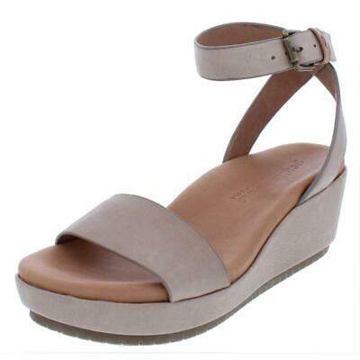 186e42a539 Gentle Souls by Kenneth Cole Womens Morrie Wedge Sandals 6.5 Medium (B,M)