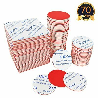 New Double Sided White Foam Sticky Tape Roll Adhesive Super Strong 1.8*300cm KK