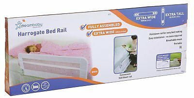 Dreambaby Fully Assembled Extra Wide Bed Rail - White