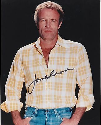 JAMES CAAN (1940- ) hand signed 8x10 photo - color photograph autographed |