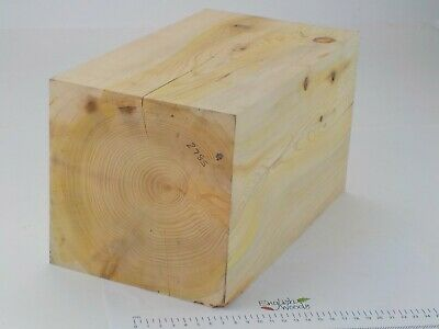 Cedar of Lebanon woodturning or wood carving blank. 170 x 170 x 300mm.  2785