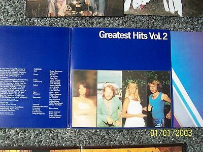 Abba, Greatest Hits Vol.2. Original 1979 Epic Album Of Hits 1975-1979 G/F Sleeve