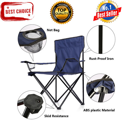 Strange Heavy Duty Folding Camp Chair Outdoor Portable Seat 500Lbs Andrewgaddart Wooden Chair Designs For Living Room Andrewgaddartcom
