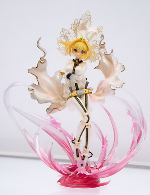 New Anime Fate/Extra CCC Saber Bride Special Edition PVC Figure