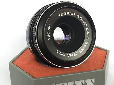CARL ZEISS TESSAR 50mm F2.8 M42 LENS fit Micro 4/3 m43 Olympus PEN E PL3 P3