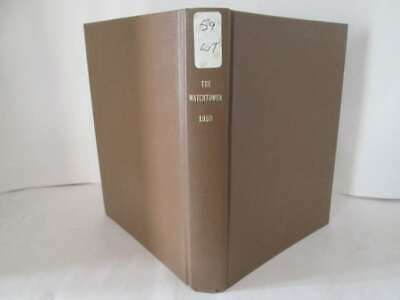 The Watchtower 1959 Edition  1959
