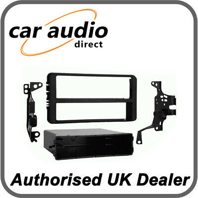 Connects2 CT24TY29 Facia Plate Single/Double DIN (Black) for Toyota Celica