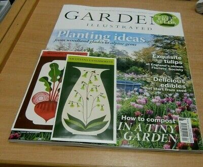 Gardens Illustrated magazine APR 2019 Planting Ideas, Tulips, Edibles + Seeds