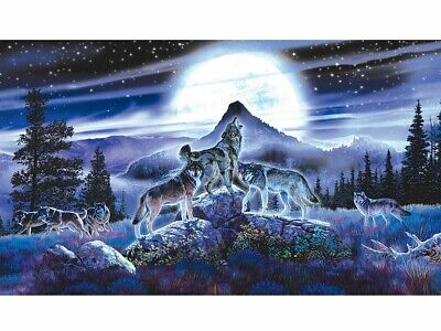 Night Wolves Jigsaw Puzzle 1000 Pieces (SUN34626)