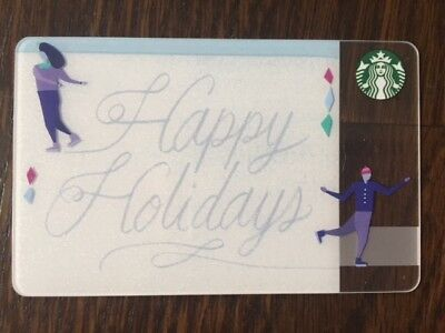"Canada Series Starbucks ""2016 HAPPY HOLIDAYS"" Gift Card - New No Value"