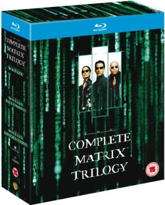 Martin Ferrero, Susan Kelle...-Matrix Trilogy Blu-ray NEW