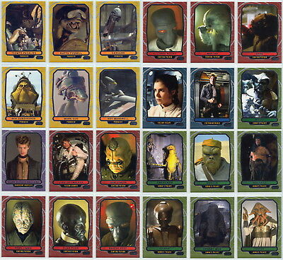2012 Topps Star Wars Galactic Files 24 Card Expansion Set (Only 350 Sets exist)