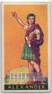 Young Alexander The Great King of  Macedonia Greece Greek 1930s Ad Trade Card