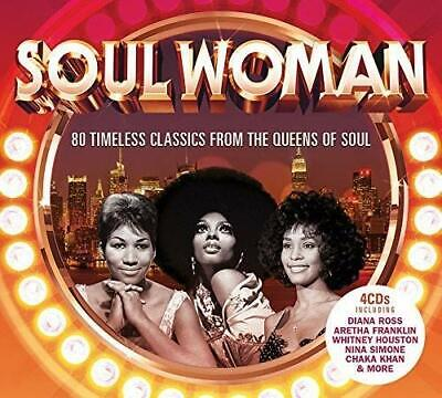 Soul Woman Hits NEW SEALED 4 CD SET 60's Motown,Disco,Neo Soul + More