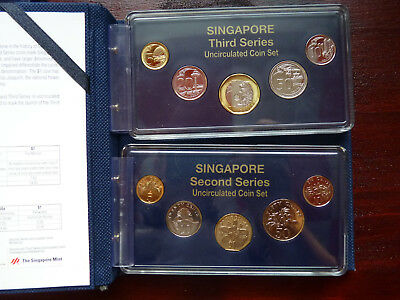 Singapore 2013 Second and Third Series Uncirculated Coin Set