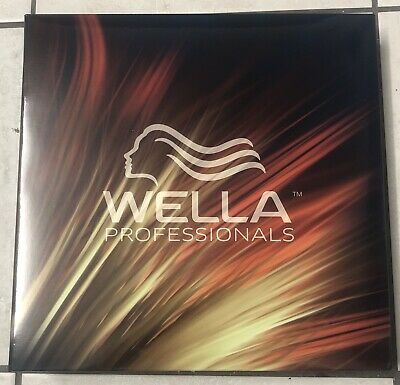NEW WELLA PROFESSIONALS MEGA SWATCHBOOK (Updated Version)