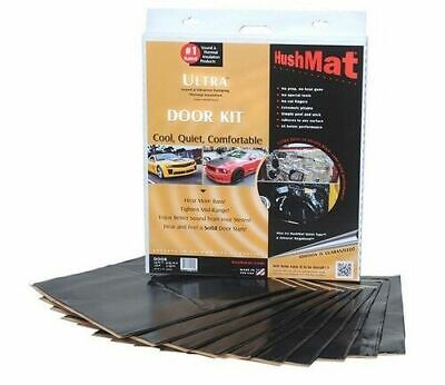 Hushmat 10200 Car Ultra Insulating Damping Material Door Kit (12''x12'') 10SQFT