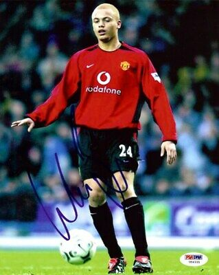 Wes Brown Autographed Signed 8x10 Photo Manchester United PSA/DNA #U54331