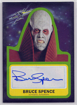 """Journey to Star Wars Force Awakens """"Bruce Spence as Tion Medon"""" Autograph Card"""