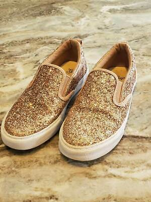 b76527d1f111 GAP KIDS ~ Girls SIZE 2 ~ Rose Gold ~ Slip On Shoes ~ Sneakers ...
