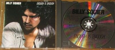 BILLY SQUIER - ENOUGH IS ENOUGH Love is the hero Lonely one u.a. CD