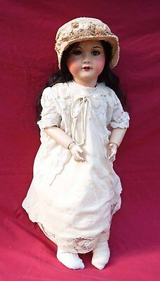 "Tall 24"" Compo Doll Sleep Eyes SFBJ Size 12 Model 71 France"