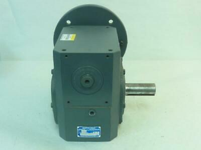 170892 Old-Stock, Boston Gear F732-20-B9-G Right Angle Worm Gearbox, 20:1 Ratio