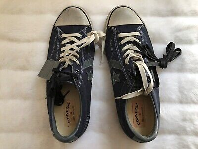 reputable site 900c0 7fc7f NEW Converse John Varvatos Star Player Limited Edition Mens 12M Blue Low Top