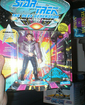 Star Trek The Next Generation Playmates Release The Romulan, Never Opened