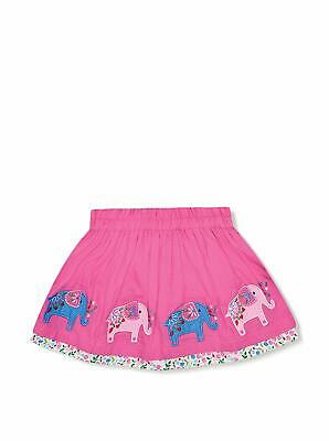 NWT jojo maman bebe Applique Pink Elephant Top & Applique Pink Skirt 3 4 yr
