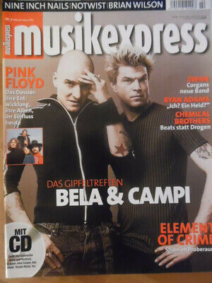 MUSIKEXPRESS 2/2002 Travis Alanis Morissette Strokes Die Firma Nick Cave P.O.D.