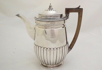 1812 Neoclassical Georgian Regency Solid Sterling Silver Pot by Hougham, 23 cm