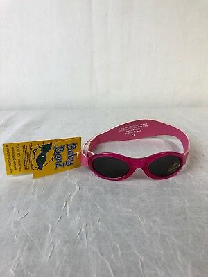 7dc95db0b11d Baby Banz NEW Girls Adventurer Sunglasses Pink New with Tags