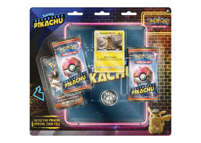 Pokemon Trading Card Game Detective Pikachu Special Case File NOW SHIPPING