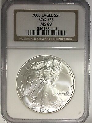 2006 Silver American Eagle (NGC-MS69) #310